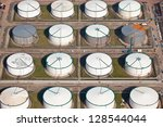 series of oil drums | Shutterstock . vector #128544044