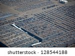 cars arriving in harbor terminal | Shutterstock . vector #128544188