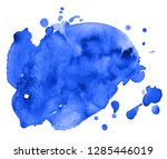 colorful abstract watercolor... | Shutterstock .eps vector #1285446019
