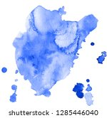 colorful abstract watercolor... | Shutterstock .eps vector #1285446040