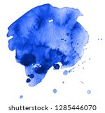 colorful abstract watercolor... | Shutterstock .eps vector #1285446070
