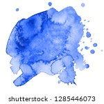 colorful abstract watercolor... | Shutterstock .eps vector #1285446073