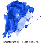 colorful abstract watercolor... | Shutterstock .eps vector #1285446076