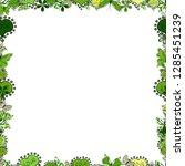 vector. border design is... | Shutterstock .eps vector #1285451239