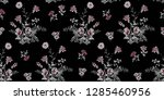 seamless floral pattern in... | Shutterstock .eps vector #1285460956