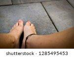 a beautiful shot of a teenagers ... | Shutterstock . vector #1285495453