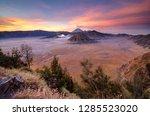 morning at bromo | Shutterstock . vector #1285523020