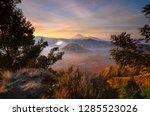 morning at bromo | Shutterstock . vector #1285523026