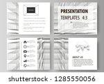 business templates for... | Shutterstock .eps vector #1285550056