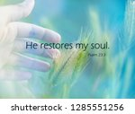 'he Restores My Soul' Quote On...