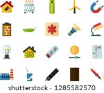 color flat icon set   table... | Shutterstock .eps vector #1285582570