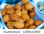 philippines street food fried... | Shutterstock . vector #1285612003