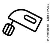 cake mixer icon. single high... | Shutterstock .eps vector #1285649389