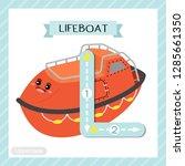letter l uppercase cute...   Shutterstock .eps vector #1285661350