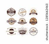 vintage collection logo | Shutterstock .eps vector #1285662463