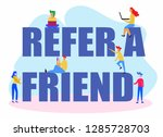 refer a friend referral cartoon ...