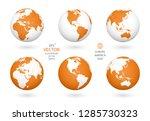 earth illustration. each... | Shutterstock .eps vector #1285730323