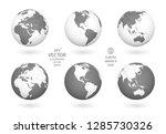 earth illustration. each... | Shutterstock .eps vector #1285730326