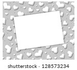 hearts   text | Shutterstock . vector #128573234