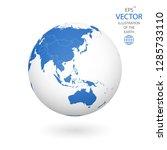 earth illustration. each... | Shutterstock .eps vector #1285733110
