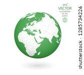 earth illustration. each... | Shutterstock .eps vector #1285734226