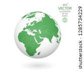 earth illustration. each... | Shutterstock .eps vector #1285734229
