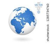 earth illustration. each... | Shutterstock .eps vector #1285734760
