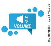 volume icon   speech bubble tag ...