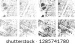 grunge stripe. distress... | Shutterstock .eps vector #1285741780