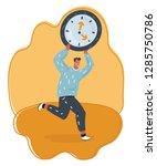 vector cartoon illustration of...   Shutterstock .eps vector #1285750786