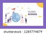 global business leadership flag ... | Shutterstock .eps vector #1285774879