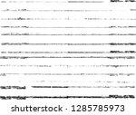 grunge paint stripe . vector... | Shutterstock .eps vector #1285785973