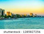 limassol  cyprus  august 16 ... | Shutterstock . vector #1285827256