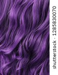 single piece clip in purple...   Shutterstock . vector #1285830070