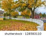 Autumn Small Town America