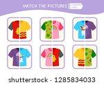matching children educational... | Shutterstock .eps vector #1285834033