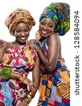Two Young Beautiful African...