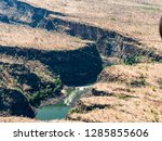 River Zambezi In Canyon Seen...