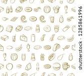 set of thumbnails. background... | Shutterstock .eps vector #1285861996