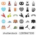 oktober festival in munich...   Shutterstock .eps vector #1285867330
