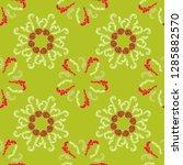 summer branches elegant... | Shutterstock .eps vector #1285882570