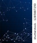 big data cloud scientific...   Shutterstock .eps vector #1285887250