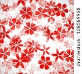 flower background | Shutterstock .eps vector #128589938