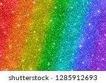 multicolor glitter background ... | Shutterstock .eps vector #1285912693