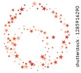 falling stars confetti... | Shutterstock .eps vector #1285916290
