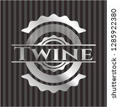twine silvery badge or emblem   Shutterstock .eps vector #1285922380
