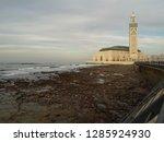 mosque hassan ii   Shutterstock . vector #1285924930