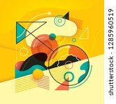 colorful abstract composition.... | Shutterstock .eps vector #1285960519
