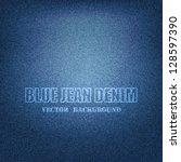 Vector Eps 10   Blue Denim...