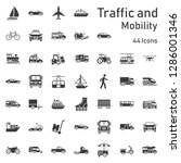 big   traffic and mobility icon ... | Shutterstock .eps vector #1286001346